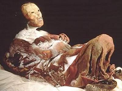 Momia Juanita - Museo Santuarios Andinos